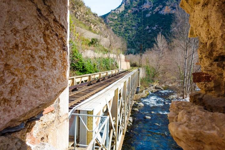 le train jaune pyrénées-orientales