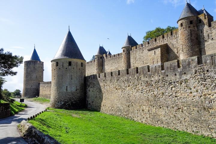 cité médiévale carcassonne