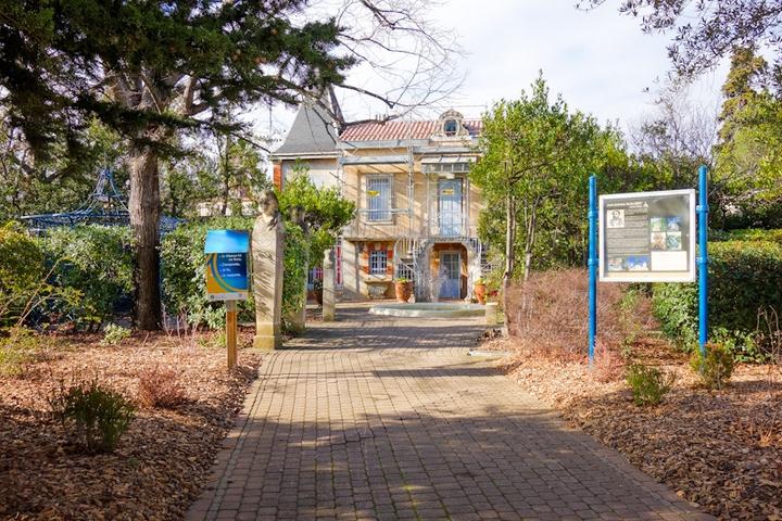 jardin villa antonine